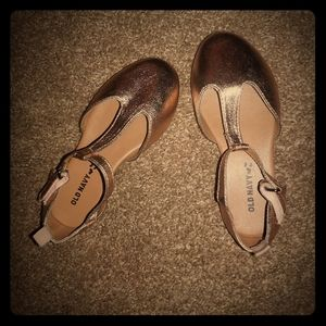 Old navy gold dress shoes